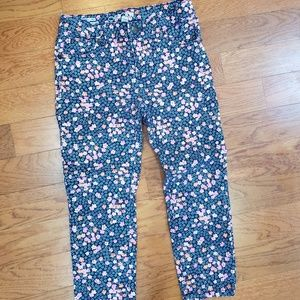 Girls floral jeans